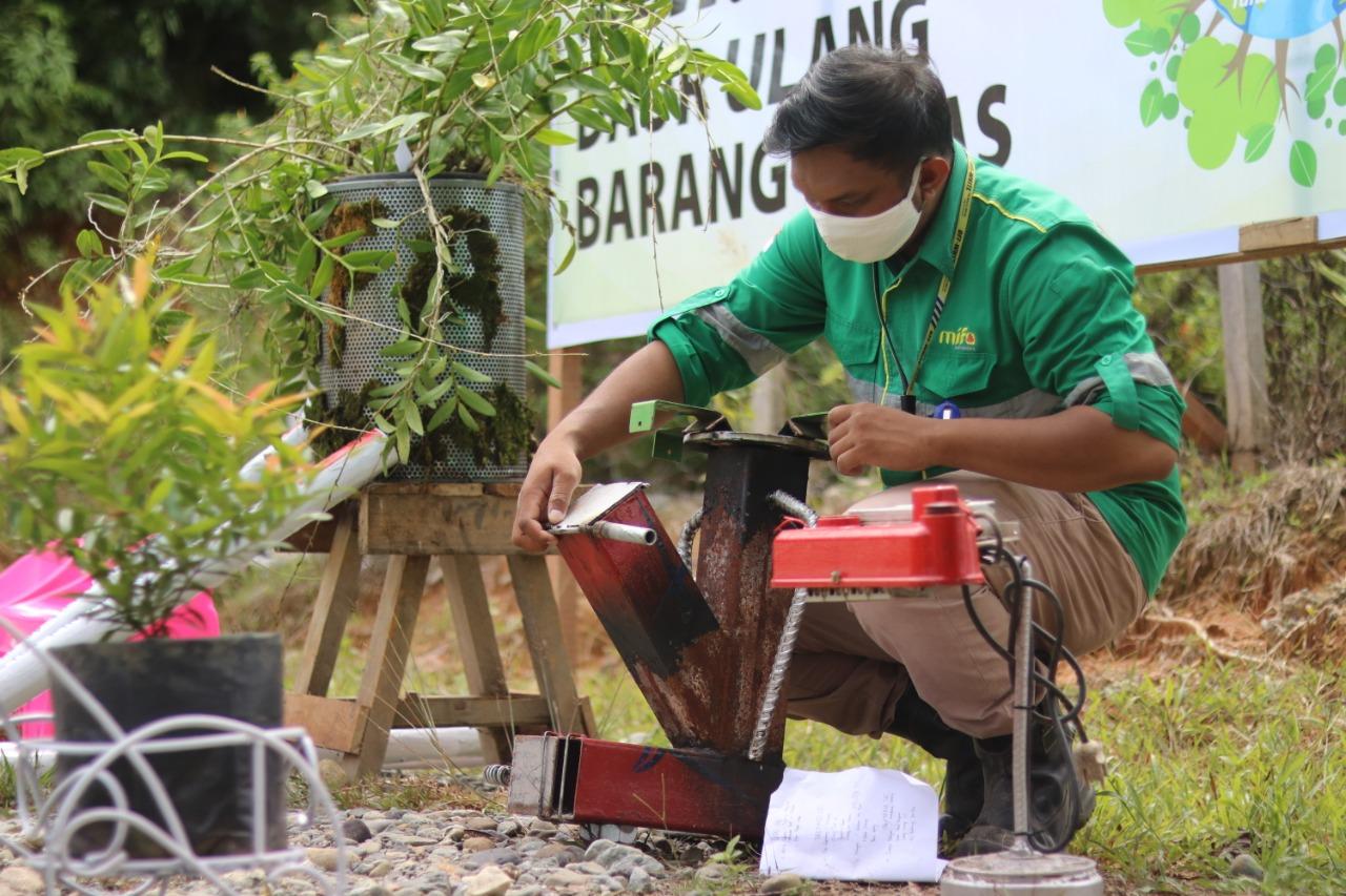 Produk Daur Ulang Karya Pekerja PT Mifa dan BEL Dari Barang Bekas