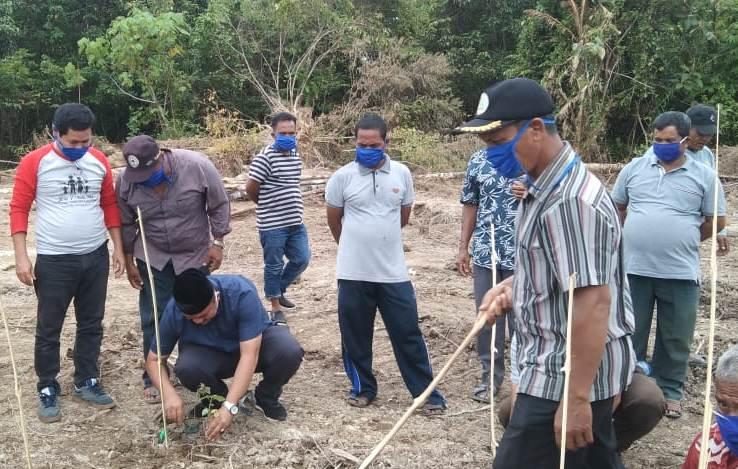 Edi Kamal, Ajak Warga Aceh Jaya Budidaya Nilam