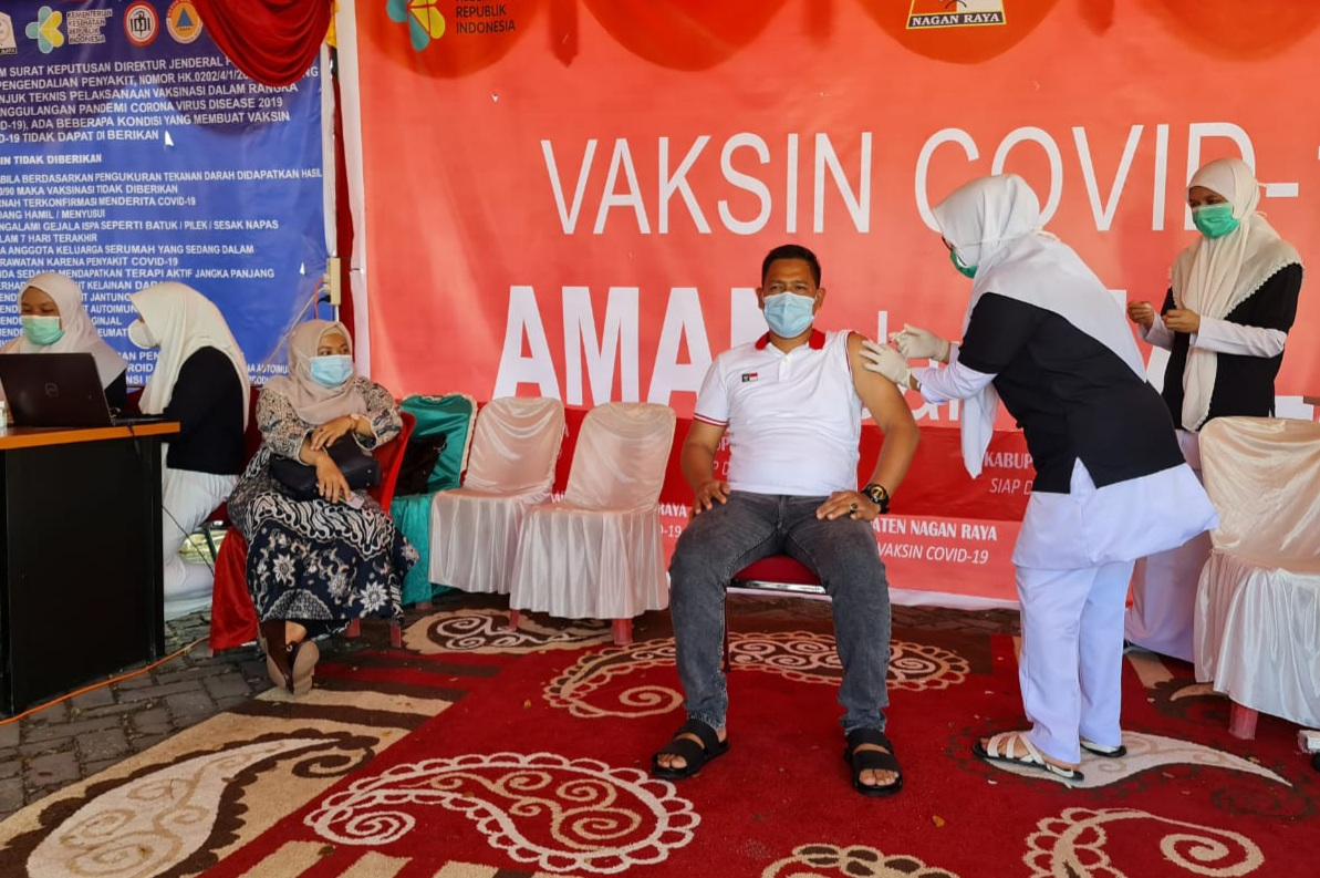 Wakili Kaum Milenial, Bendum IKNR Jakarta Sukseskan Vansinasi Sinovac