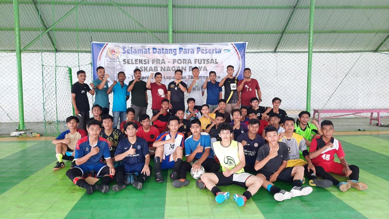Askab Futsal Nagan Raya Seleksi Pemain Pra-PORA