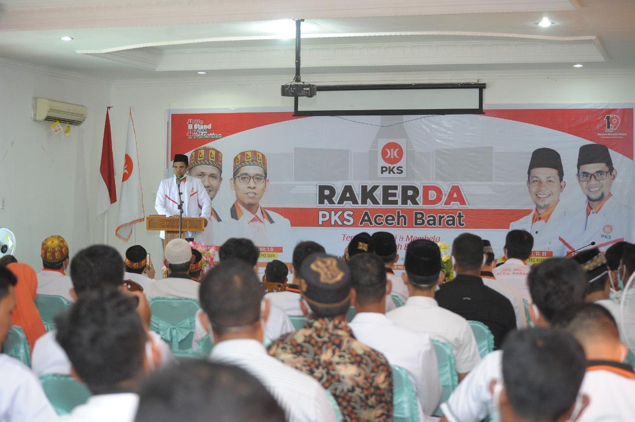 Usai Rakerda PKS Aceh Barat Rekomendasi Tujuh Calon Bupati